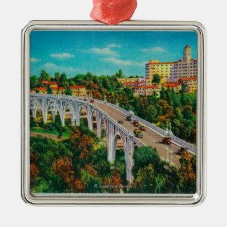 Arroyo Seco Bridge, Colorado Street Bridge Metal Ornament