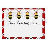 Arrr!Bee Bumble Bee Greeting Card