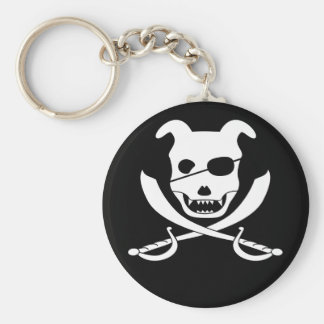 Arrrgh - It's the Doggy Roger Keychain