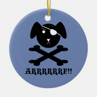 ARRRRF!! CERAMIC ORNAMENT