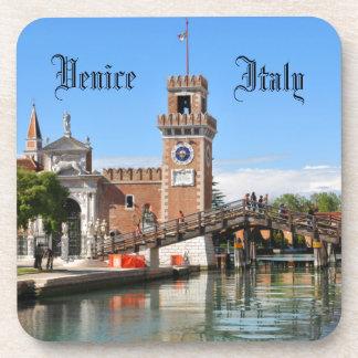 Arsenal in Venice, Italy Beverage Coaster