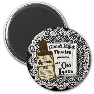 Arsenic and Old Lace  2010 2 Inch Round Magnet