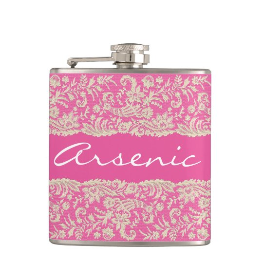 Arsenic and Old Lace Personalize Flask