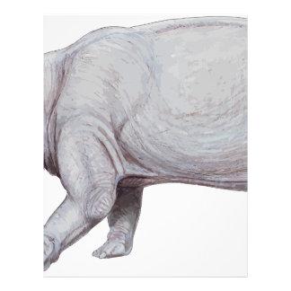 Arsinoitherium Letterhead