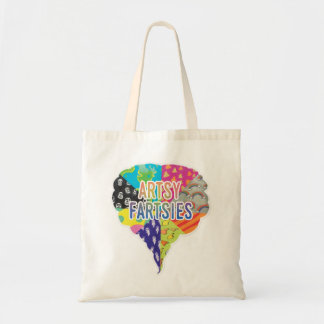 Arsty Fartsies Budget Tote Bag