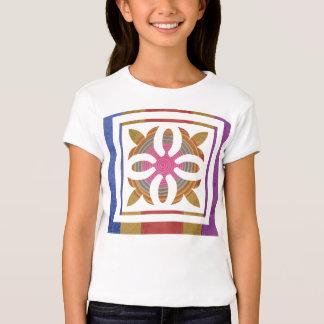 Art101 Color Co-ordinates - Silk Satin Floral T-Shirt