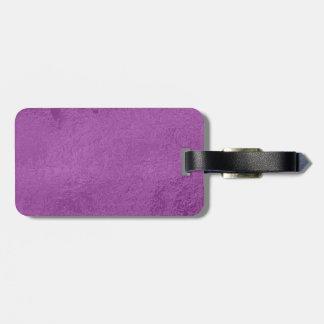 Art101 Elite Satin Silk Look - Holy Purple Luggage Tags