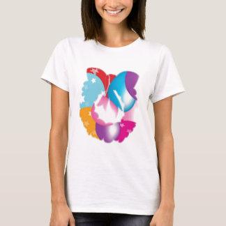 ART101 - Stars n Baloons Wreath Cutout T-Shirt