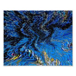 Art Abstract 3D Photo Print