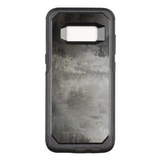 art abstract grunge black and white textured OtterBox commuter samsung galaxy s8 case