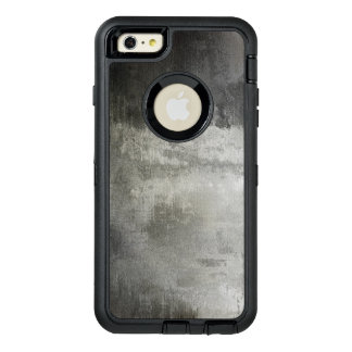 art abstract grunge black and white textured OtterBox iPhone 6/6s plus case