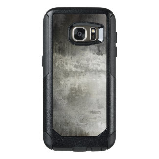 art abstract grunge black and white textured OtterBox samsung galaxy s7 case