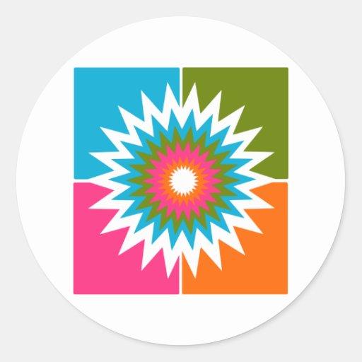 art  abstract illustration sticker