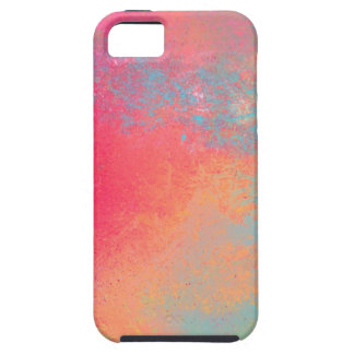 Art abstract spray pop color iPhone 5 case