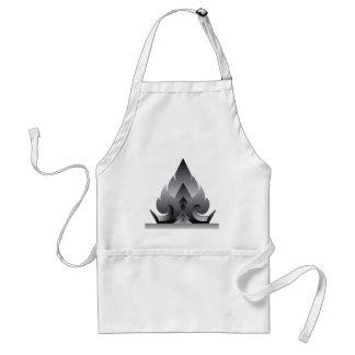 art  abstract standard apron