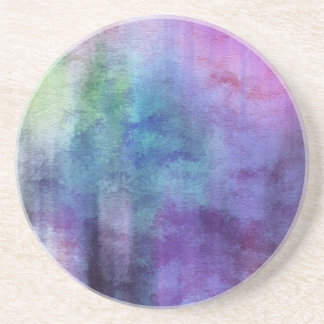 art abstract watercolor background on paper 2 coaster