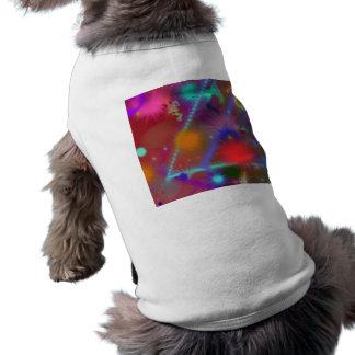 Art abstrait coloré de diagramme d'Astro de Vêtements Pour Chien