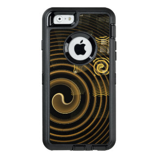 Art abstrait d'hypnose coque OtterBox iPhone 6/6s