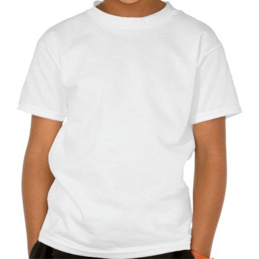 Art abstrait vert t-shirt