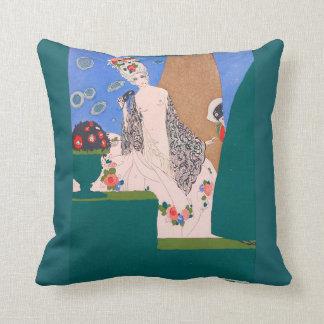 Art Accent Throw Pillow Art Nouveau