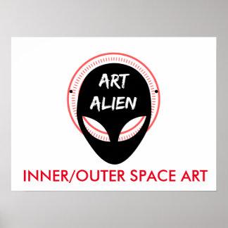 ART ALIENs Poster