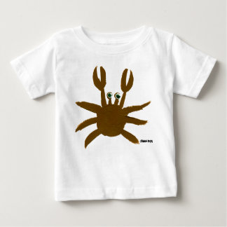 Art Baby: Crazy Crab and Seagull Baby T-Shirt