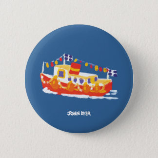 Art Badge Button: John Dyer Ferry 2 Inch Round Button