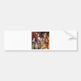 Art ,beauty and love in Renoir paintings Bumper Sticker