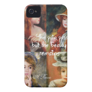 Art ,beauty and love in Renoir paintings iPhone 4 Case