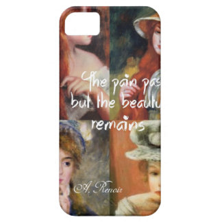 Art ,beauty and love in Renoir paintings iPhone 5 Case