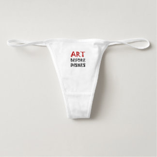 Art Before Dishes Underwear