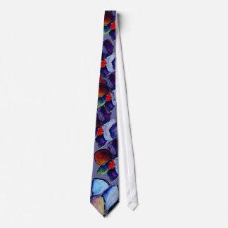 Art Blue Orchid Tie