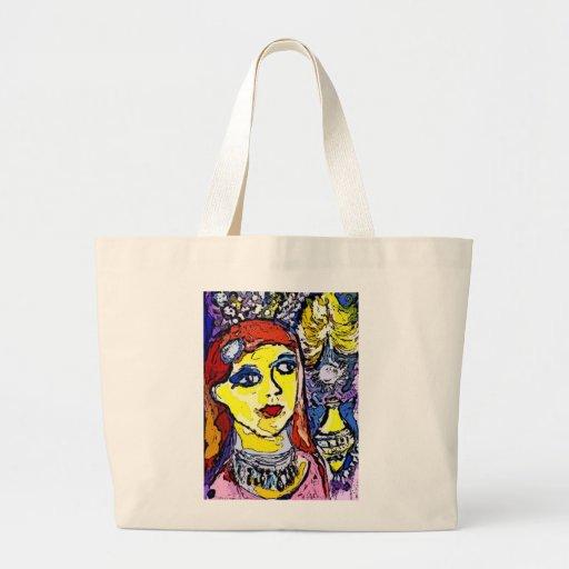 Art Brut Jumbo Tote  by Katie Pfeiffer Canvas Bag