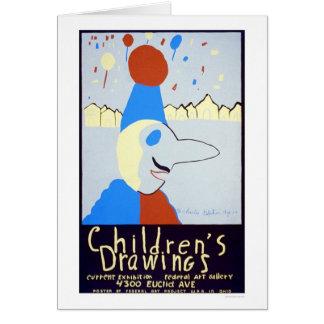 Art By Children 1939 WPA Card