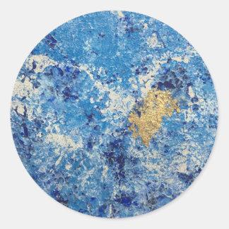 Art by Cleopatra Classic Round Sticker