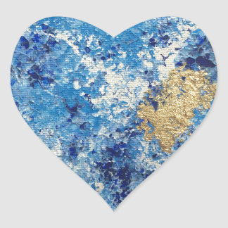 Art by Cleopatra Heart Sticker