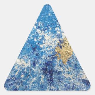Art by Cleopatra Triangle Sticker