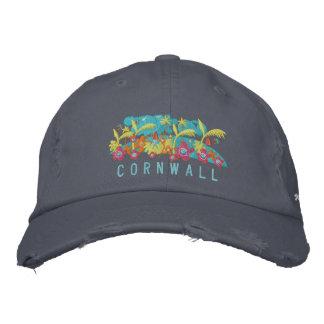 Art Cap: Cornwall John Dyer Design Embroidered Hats