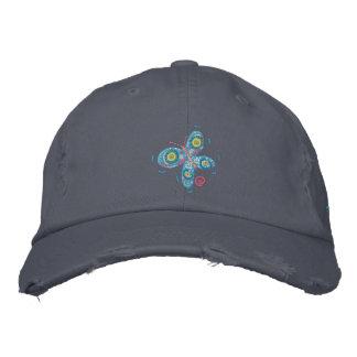Art Cap: John Dyer Blue Butterfly and Signature Baseball Cap