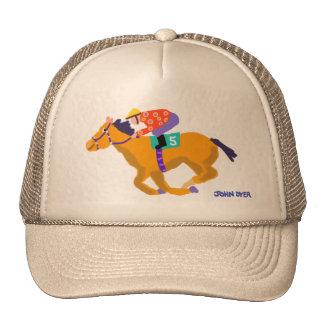Art Cap Race Hose by John Dyer Trucker Hat