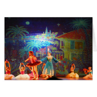 Art Card: Ballet and Art. Petrouchka Greeting Card