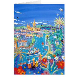 Art Card: Day Trip to Truro by John Dyer Greeting Card