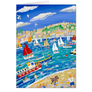 Art Card: Falmouth River, Cornwall Greeting Card