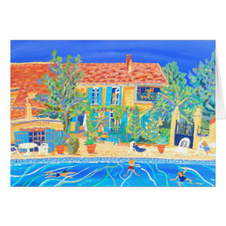 Art Card: Holidays in Provence Card
