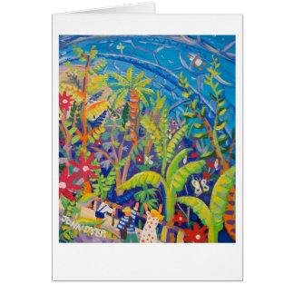 Art Card: Rainforest. Eden Project Card