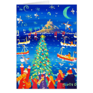 Art Card: Singing around the Tree, Mounts Bay Card