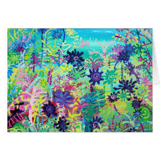 Art Card: Sub Tropical Plants Greeting Card