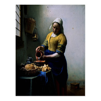 "Art Card - ""The Kitchen Maid"" by Johannes Vermeer"