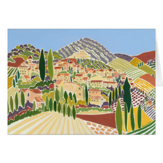 Art Card: The Old Town, Vaison La Romaine Card