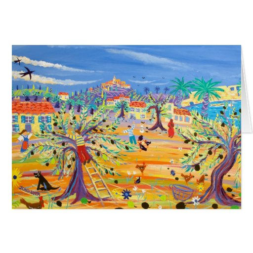 Art Card: The Olive Route. Carol Drinkwater